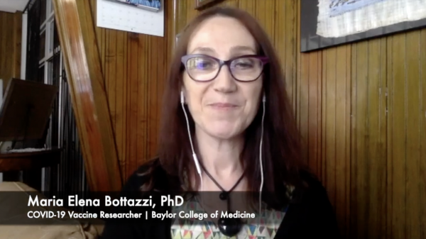 COVID vaccine researcher Maria Elena Bottazzi