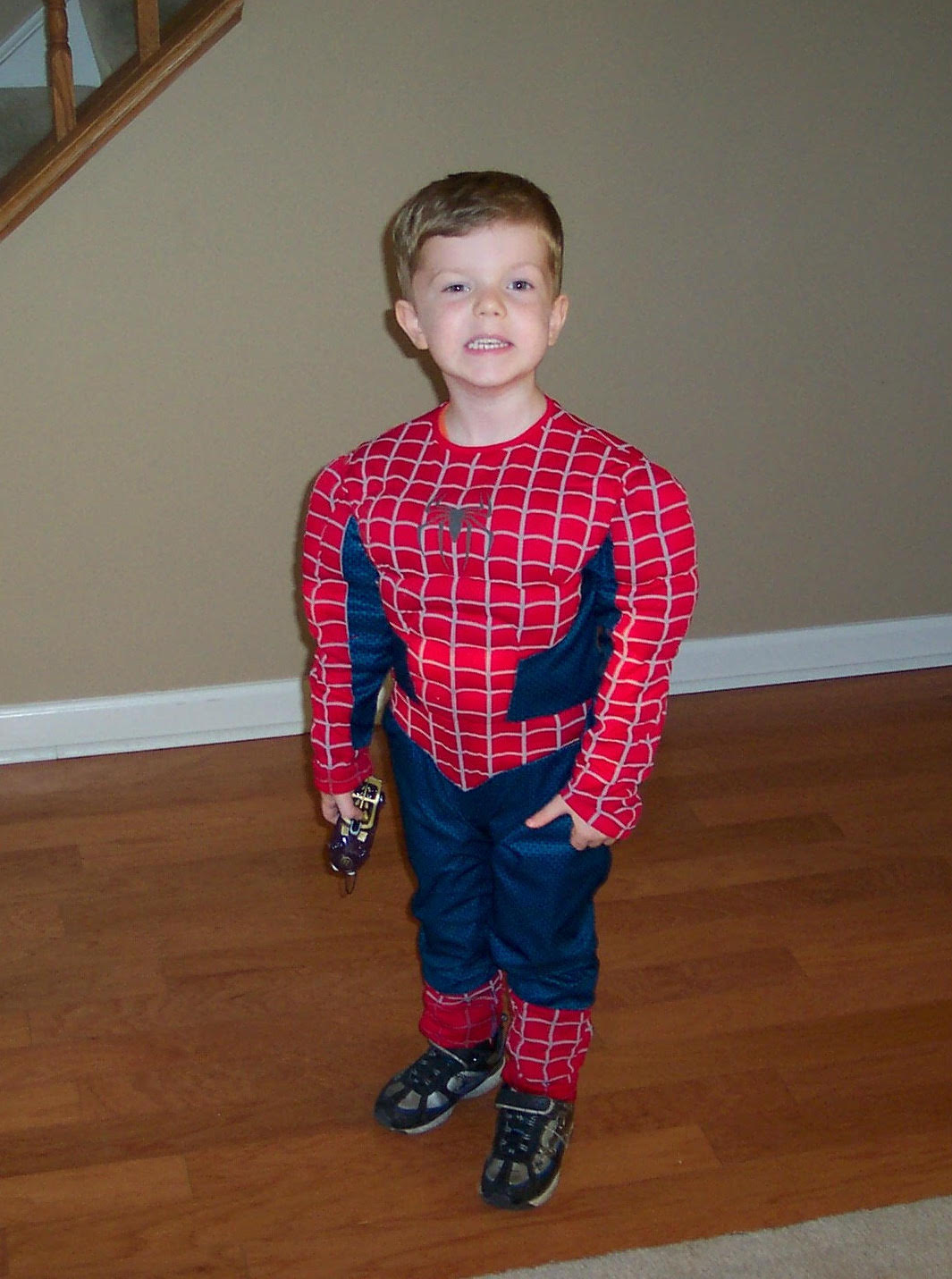 JoJo as Spiderman copy